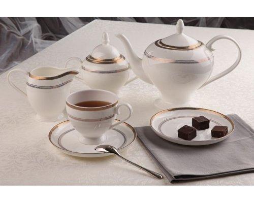 """Чайный сервиз Royal Aurel """"Консул"""" на 6 персон 15 предметов арт. 103"""