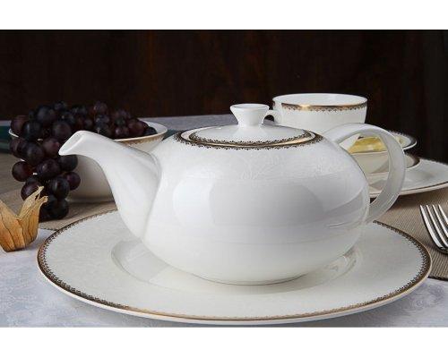 """Чайный сервиз Royal Aurel """"Флора"""" на 6 персон 13 предметов арт. 138"""