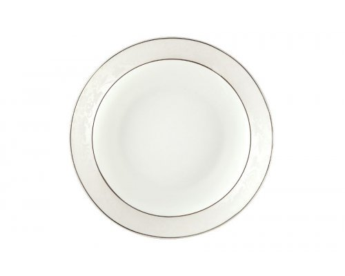 Набор тарелок суповых Пион белый Royal Aurel 20 см 6 штук