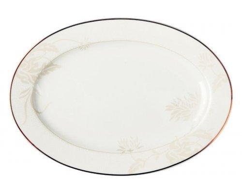 Блюдо овальное Хризантема Royal Aurel 31 см