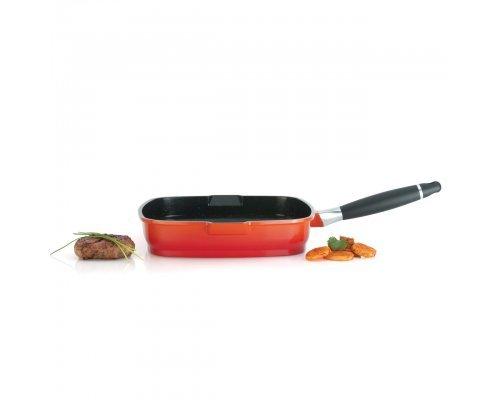 Сковорода-гриль 24см 3л Virgo Orange