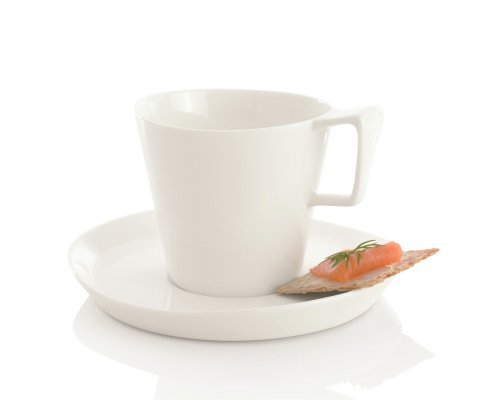 Набор 2шт чашек для завтрака с блюдцем 0,4л Eclipse