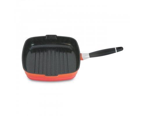 Сковорода-гриль 28см Virgo Orange