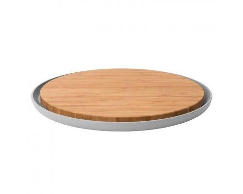 Доска разделочная бамбуковая с тарелкой 36,5*2см BergHOFF Leo
