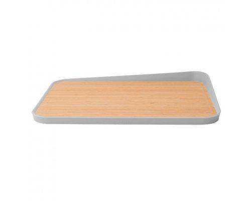 Доска разделочная бамбуковая (с углом) 41*30,5см BergHOFF Leo
