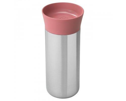Термокружка 330мл розовая BergHOFF Leo