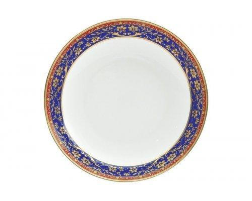 Набор тарелок суповых Кобальт Royal Aurel 20 см 6 штук