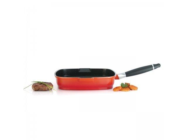 Сковорода-гриль 28см 4,3л Virgo Orange