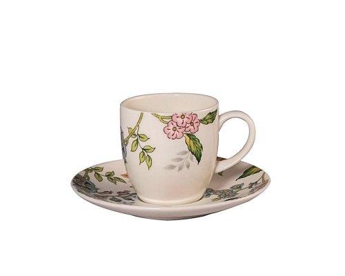 Набор 6 кофейных пар 100мл Прованс Royal Fine China