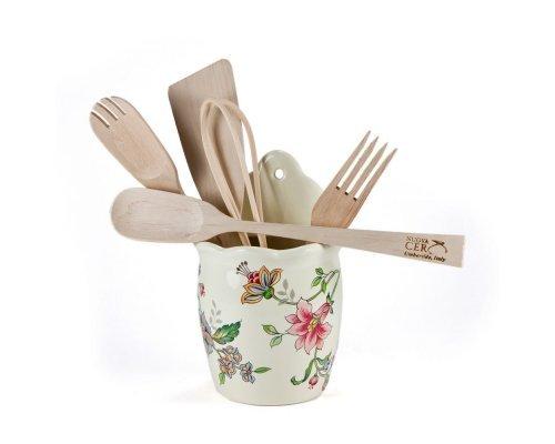 Емкость настенная с кухонными инструментами Прованс Nuova Ceramica s.n.c.