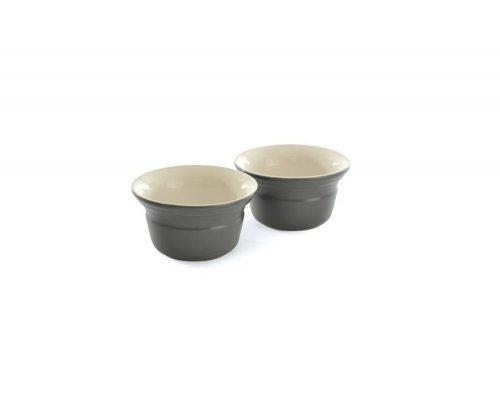 Набор форм для запекания порционные 10см (серые) BergHOFF 2 шт