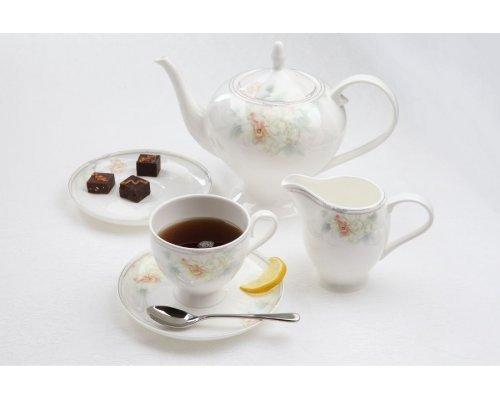 """Чайный сервиз Royal Aurel """"Акварель"""" на 6 персон 15 предметов арт. 129"""