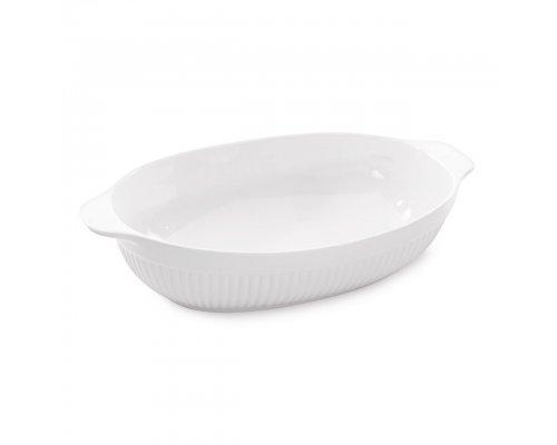 Блюдо для запекания овальное 43*27*9см Bianco
