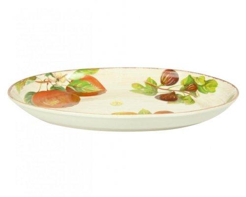 Блюдо овальное Фрукты Сестеси (Sestesi) 40*26