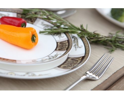"""Набор тарелок плоских 20 см 6 шт. Royal Aurel """"Антик"""""""