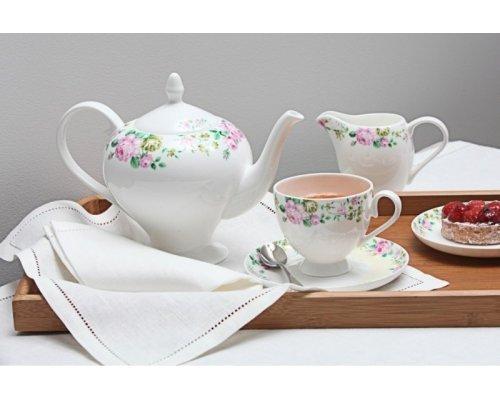 """Чайный сервиз Royal Aurel """"Прованс"""" на 6 персон 15 предметов арт. 124"""
