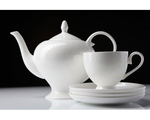 """Чайный сервиз Royal Aurel """"Облака"""" на 6 персон 15 предметов арт. 106"""