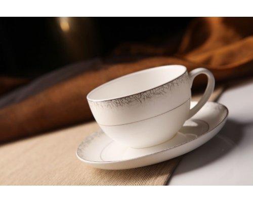 """Чайный сервиз Royal Aurel """"Иней"""" на 6 персон 13 предметов арт. 110"""