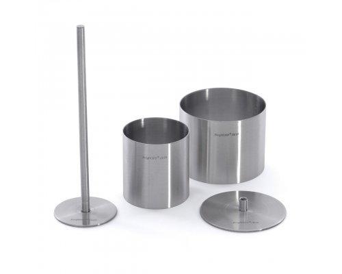 Набор формовочных колец для укладки пищи 15пр