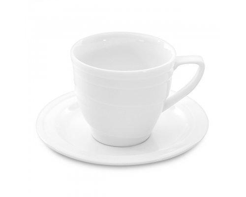 Чашка для завтрака с блюдцем 0,385л Hotel