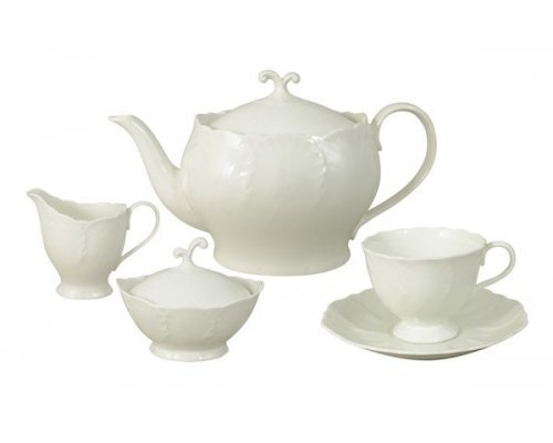 Сервиз чайный Narumi Слоновая кость на 6 персон 17 предметов