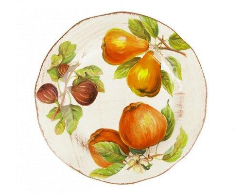 Тарелка десертная Фрукты Сестеси (Sestesi) 21,5см