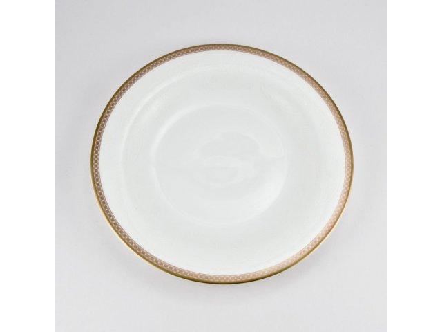 Набор 6 тарелок 19см Золотая вышивка Royal Bone China