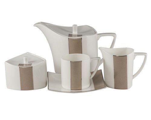 Сервиз чайный Шайн Royal Bone China на 6 персон 17 предметов