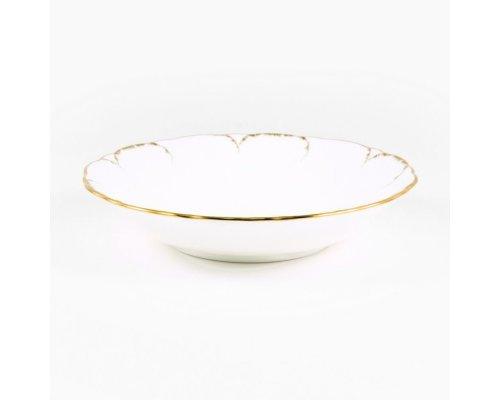 Набор 6 салатников 15см Narumi Белый с золотом