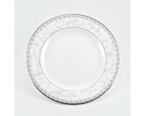 Набор 6 тарелок 21см Жизель Royal Bone China