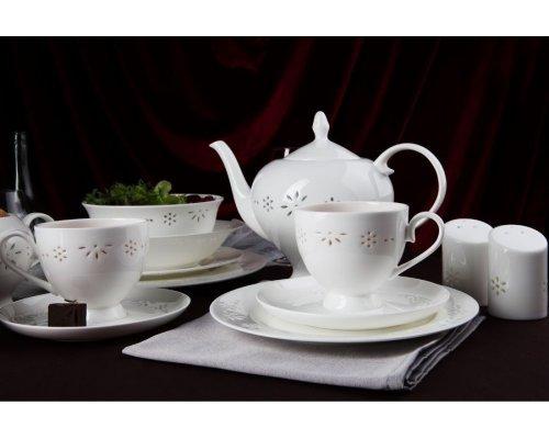 """Чайный сервиз Royal Aurel """"Севилья"""" на 6 персон 15 предметов арт. 139"""