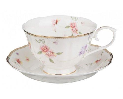 Набор чайных пар 6шт Алиса (кор=6наб)