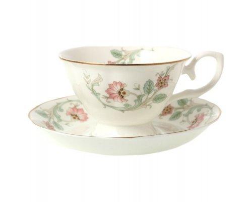 Набор чайных пар Цветочная феерия Royal (Роял) 230 мл (6 пар)