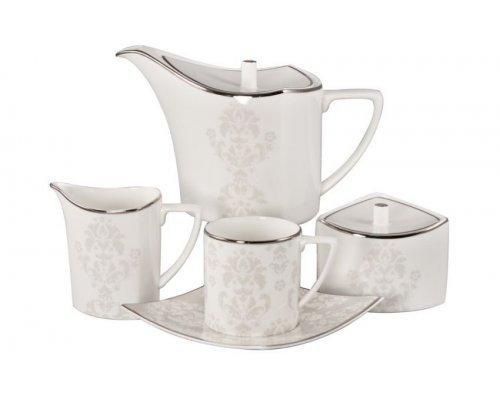 Сервиз чайный Париж Royal Bone China на 6 персон 17 предметов