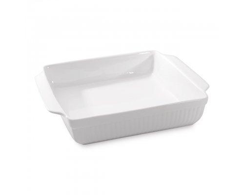 Блюдо для запекания квадратное 37,5*31*8см Bianco