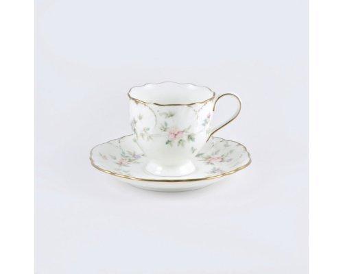 Набор 6 кофейных пар 100 мл Narumi Воспоминание