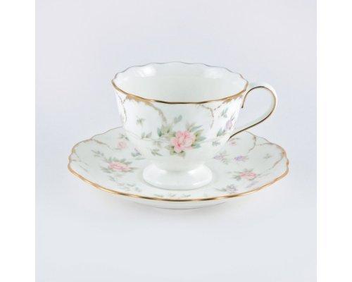 Чашка с блюдцем 0.2л Narumi Воспоминание