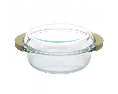 Кастрюля стеклянная с крышкой - средняя CollectAndCook BergHOFF (25*21*9,5см 1,5л)