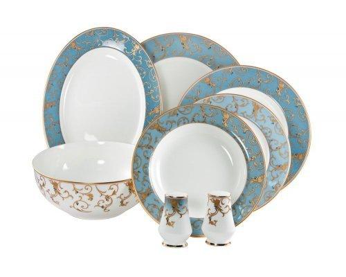 Сервиз столовый Narumi Престиж (Anatolia Blue) на 6 персон 23 предмета