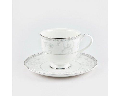 Набор 6 чайных пар 200мл Жизель Royal Bone China