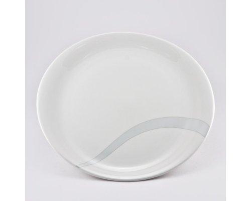 Набор 6 тарелок подстановочных 27см Атласная лента Royal Fine China