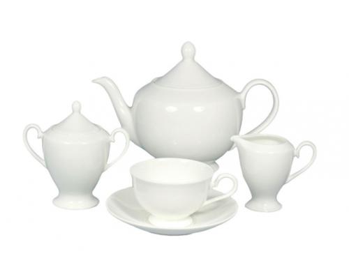 Сервиз чайный Белая линия Nikko на 6 персон 17 предметов