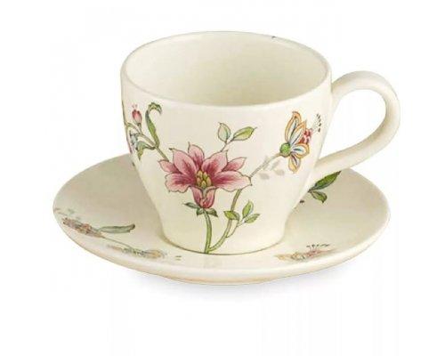 Чашка чайная с блюдцем 13см Прованс Nuova Ceramica