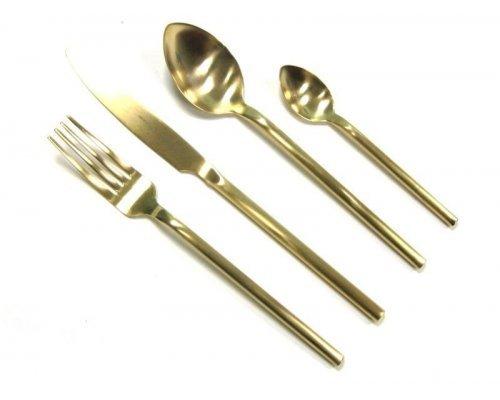 Набор столовых приборов Herdmar DESIRE OLD GOLD на 6 персон 24 предмета