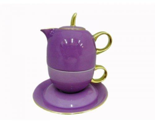 Восточный чайный набор Rudolf Kampf Дуо 2553 (чайник 0,4 + чашка 0,2)