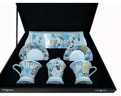 Подарочный чайный набор Тет-а-тет Rudolf Kampf Византия 1515 на 2 персоны в подарочном коробе