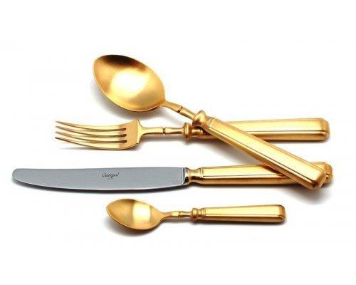 Набор столовых приборов Cutipol PICCADILLY GOLD мат. на 12 персон 72 предмета