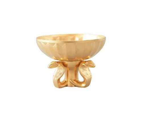 Ваза с кобрами Rudolf Kampf Древний Египет 2012 28см (золото) в подарочном коробе