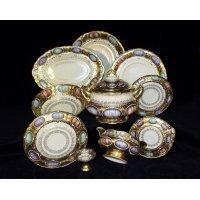 Сервиз столовый Rudolf Kampf Antique Medallions на 6 персон 25 предметов