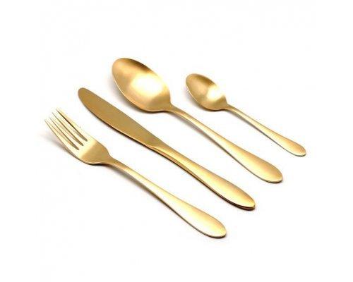 Набор столовых приборов HERDMAR ATLANTA OLD GOLD 24 предмета
